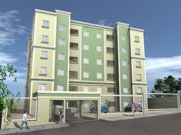 apartamento 1 dormitório(s) nova santa paula